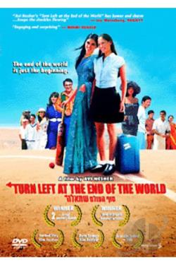 Turn Left at the End of the World DVD Cover Art
