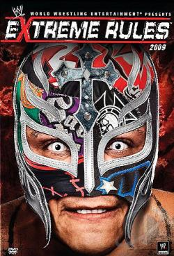 Extreme Rules 2009 DVD Cover Art