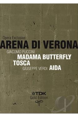 Opera Exclusive: Arena di Verona DVD Cover Art