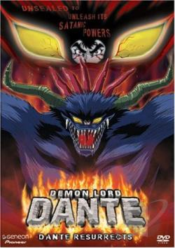 Demon Lord Dante - Vol. 1: Dante Resurrects DVD Cover Art