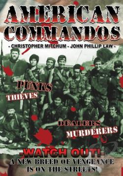 American Commandos DVD Cover Art