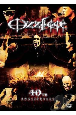 Ozzfest - 10th Anniversary DVD Cover Art