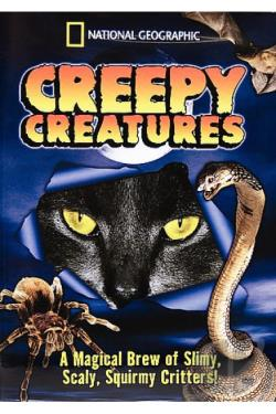 Creepy Creatures DVD Cover Art