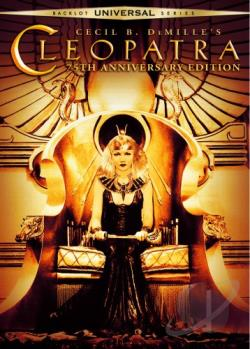Cleopatra DVD Cover Art