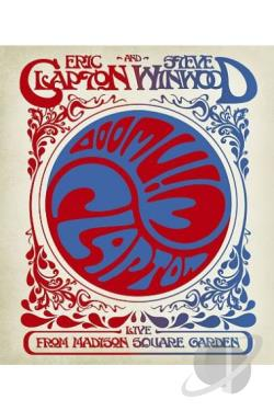 Eric Clapton and Steve Winwood: Live From Madison Square Garden BRAY Cover Art