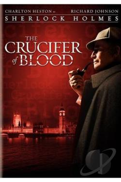 Sherlock Holmes - The Crucifer of Blood DVD Cover Art
