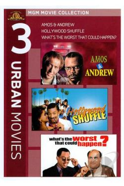What's The Worst That Could Happen?/Amos And Andrew/Hollywood Shuffle DVD Cover Art