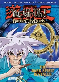 Yu-Gi-Oh: Battle City Duels - Vol. 8: The Dark Spirit Revealed DVD Cover Art