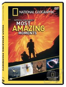 National Geographic's Most Amazing Moments DVD Cover Art