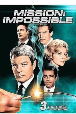 Mission - Impossible - The Complete Third Season DVD Cover Art
