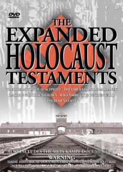 Expanded Holocaust Testaments DVD Cover Art