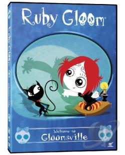 Ruby Gloom: Welcome to Gloomsville DVD Cover Art