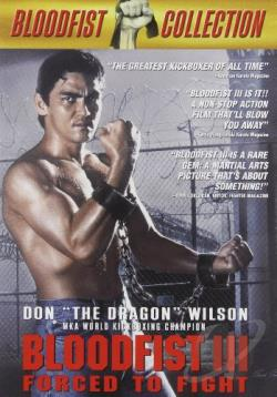 Bloodfist 3 - Forced to Fight DVD Cover Art