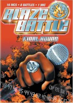 Blaze Battle - Round 2 DVD Cover Art