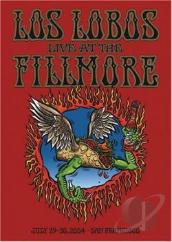 Los Lobos - Live at the Fillmore DVD Cover Art