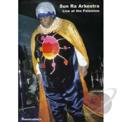 Sun Ra - Live at the Palomino DVD Cover Art