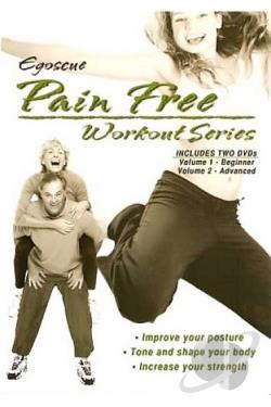 Egoscue Pain Free Workout Series - Vol.1 & Vol. 2 DVD Cover Art