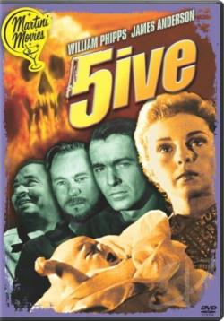 Five DVD Cover Art