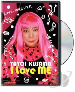 Yayoi Kusama: I Love ME - NEW PEOPLE Artist Series Vol. 2 DVD Cover Art