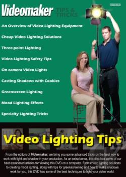Videomaker Tips & Tricks: Video Lighting Tips DVD Cover Art