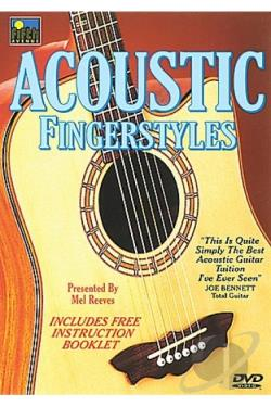 Acoustic Fingerstyles DVD Cover Art