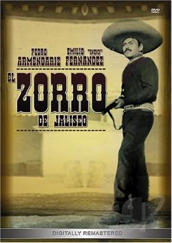 Zorro De Jalisco DVD Cover Art