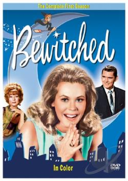 Bewitched - The Complete First Season (color) DVD Cover Art