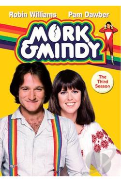 Mork & Mindy - The Complete Third Season DVD Cover Art