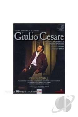 Georg Friedrich Handel - Giulio Cesare DVD Cover Art
