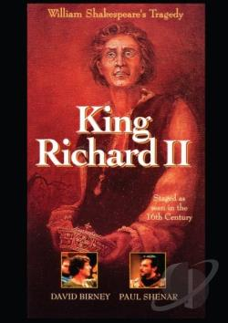 King Richard 2 DVD Cover Art