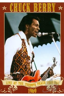 Chuck Berry - Live At The Toronto Peace Festival 1969 DVD Cover Art