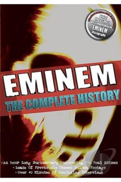 Eminem - The Complete Story DVD Cover Art