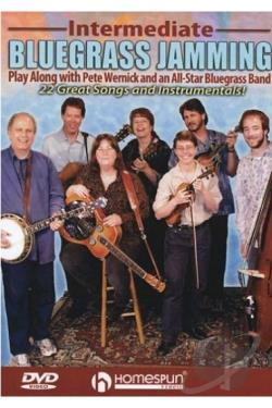 Intermediate Bluegrass Jamming DVD Cover Art