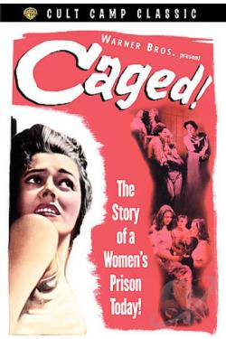 Caged DVD Cover Art