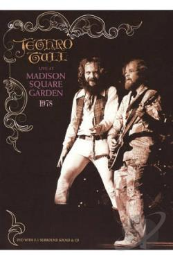 Jethro Tull: Live at Madison Square Garden 1978 DVD Cover Art
