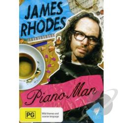 James Rhodes: The Piano Man DVD Cover Art