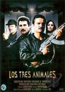 Los Tres Animales DVD Cover Art