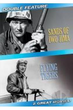 Sands of Iwo Jima/Flying Tigers DVD Cover Art
