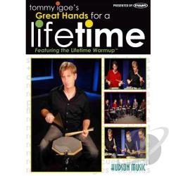 Tommy Igoe's Great Hands for a Lifetime DVD Cover Art
