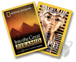 National Geographic - Into The Great Pyramid/Egypt: Quest For Eternity DVD Cover Art