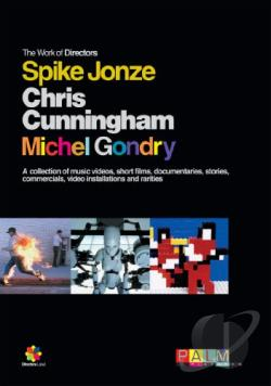 Work of Directors Spike Jonze, Chris Cunningham, Michael Gondry Box Set DVD Cover Art