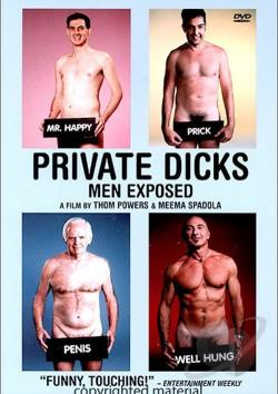 Private Dicks - Men Exposed DVD Cover Art