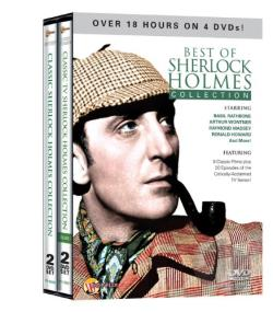Best of Sherlock Holmes Collection DVD Cover Art