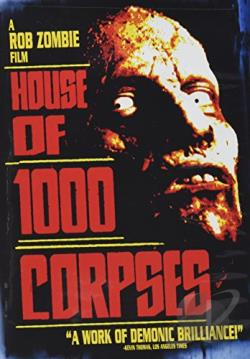 House of 1000 Corpses DVD Cover Art