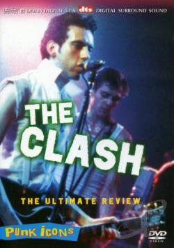 Clash - Punk Icons DVD Cover Art