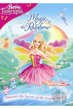 Barbie Fairytopia: Magic of the Rainbow DVD Cover Art