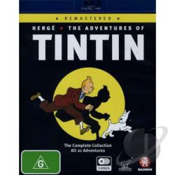 Adventures Of Tintin Remastered BRAY Cover Art
