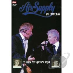 Air Supply: In Concert DVD Cover Art