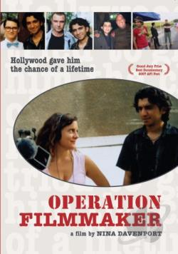 Operation Filmmaker DVD Cover Art
