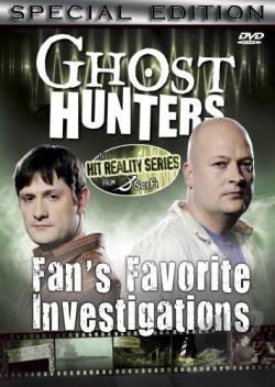 Ghost Hunters: Fans' Favorite Investigations DVD Cover Art